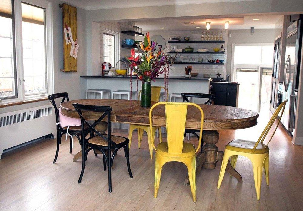Vivir y disfrutar en la cocina ministry of deco for Sillas cocina amarillas