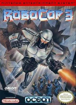 RoboCop 3+arcade+game+portable+art+flyer