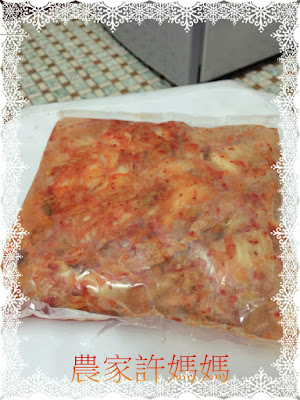 醬汁濃厚泡菜做法大白菜-許媽媽2