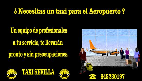 Tarifa fija al Aeropuerto de Sevilla