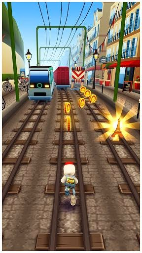 لعبة subway surfers