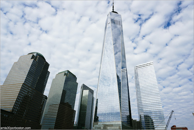 One World Trade Center el Otoño del 2018