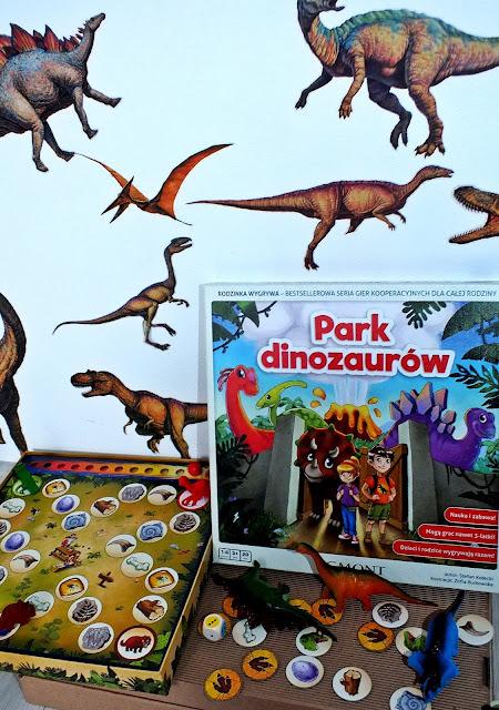 Park dinozaurów - gra bez rywalizacji