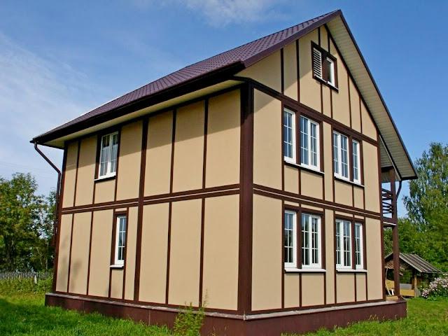 Каркасные дома под ключ Крым