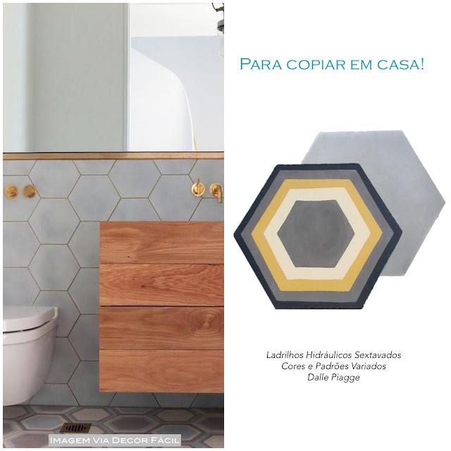 revestimento cimento hexagonal
