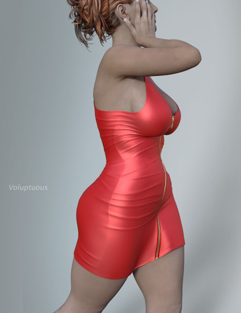 Hongyu's Leather Dress for Victoria 7