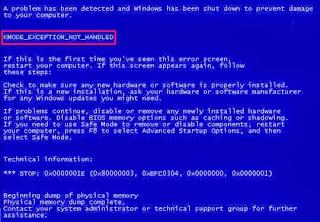 23 مشكلة تسبب شاشة الموت الزرقاء BlueScreen Of Death