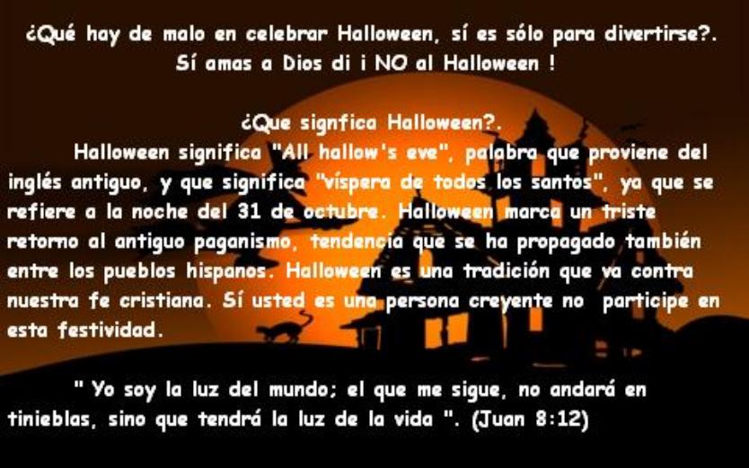 TOTUS TUUS Contra Nueva Era : Qué es en realidad el Halloween?