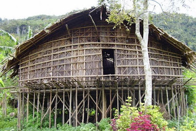 Rumah Adat Mod Aki Aksa , Rumah Adat Papua Barat