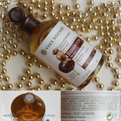Yves Rocher Hair Oil