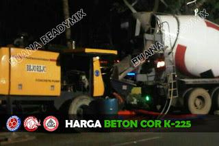 Harga Beton Cor K-225