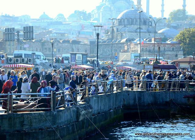 Istanbul locals in Eminonu