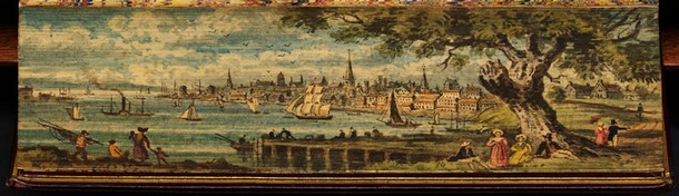 A view of Philadelphia showing the Delaware