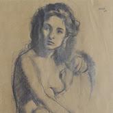 Joan Palet dibujos modernistas retratos