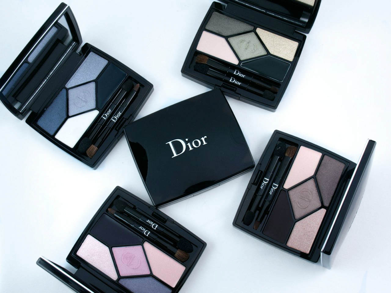 new dior diorshow 5 couleurs designer eyeshadow palettes review and swatches the happy sloths. Black Bedroom Furniture Sets. Home Design Ideas