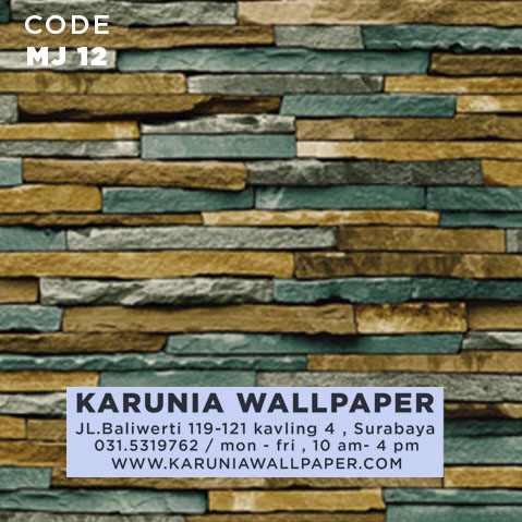 jual wallpaper batu