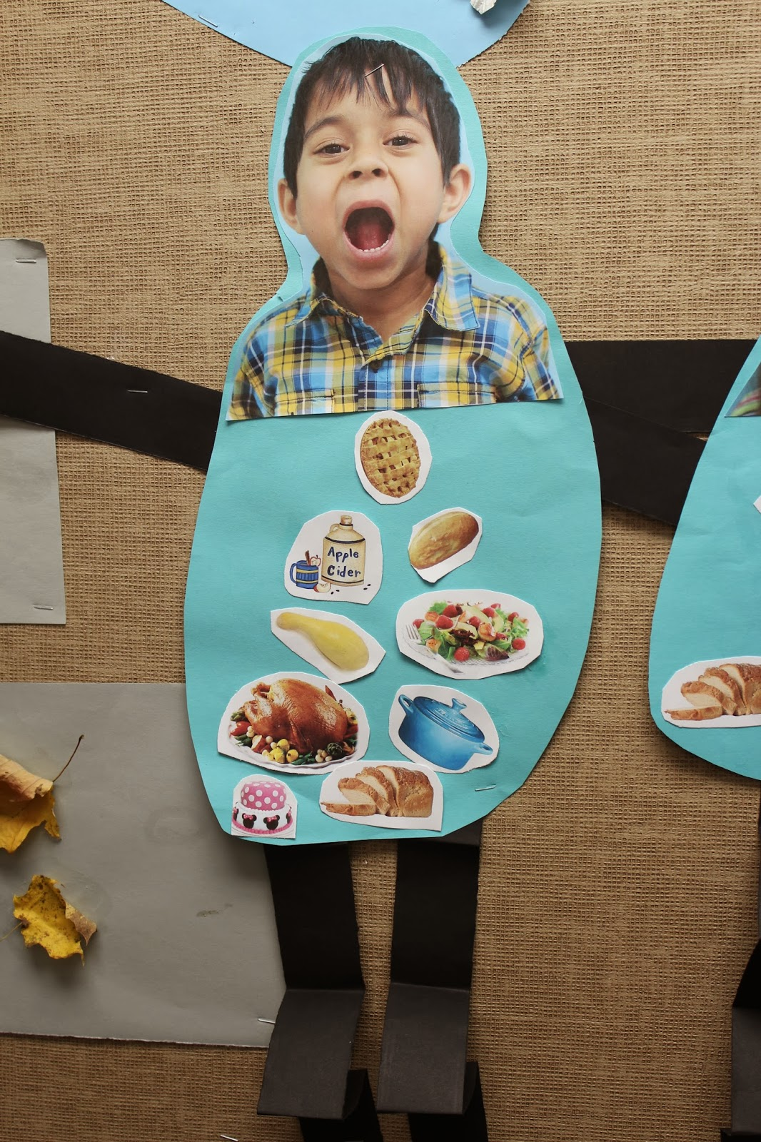 Turkey Eating Craft For Kids