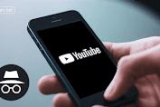 Begini Cara Mengaktifkan Mode Incognito di Aplikasi YouTube