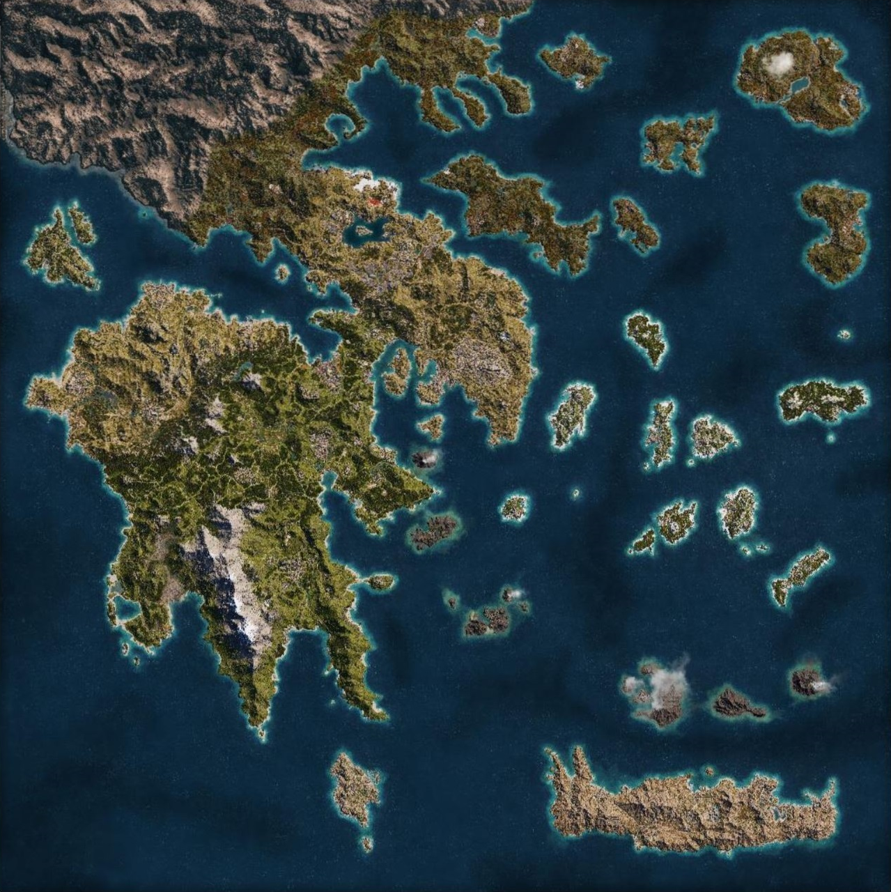 Assassin S Creed Odyssey Map