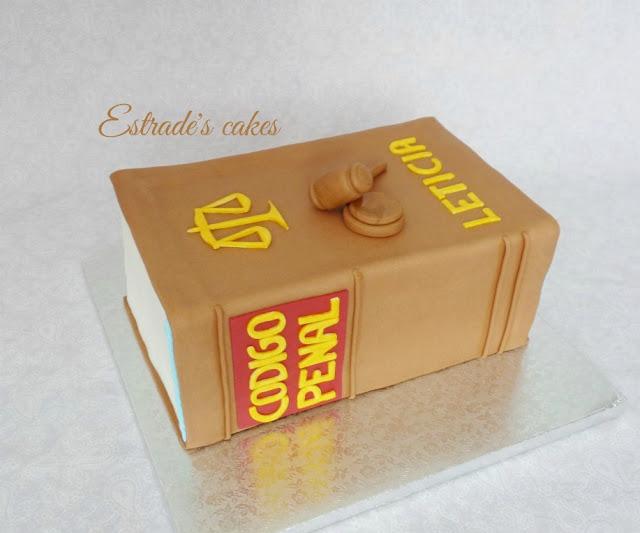 tarta de libro del código civil 5