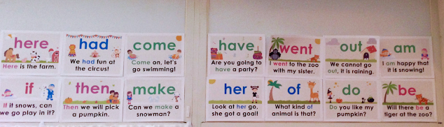 sight word posters
