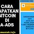 Cara Mendapatkan Bitcoin di Anonymous Ads Modal Blog Doang