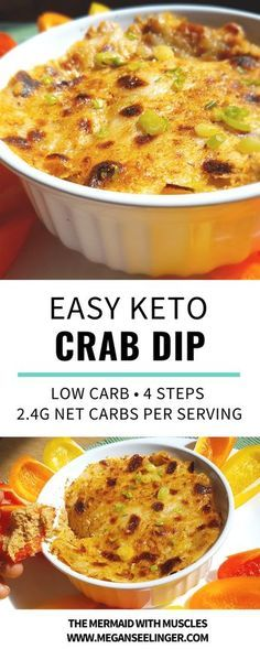 KETO CRAB DIP RECIPE