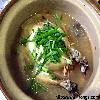 Samgyetang (Korean ginseng chicken soup)