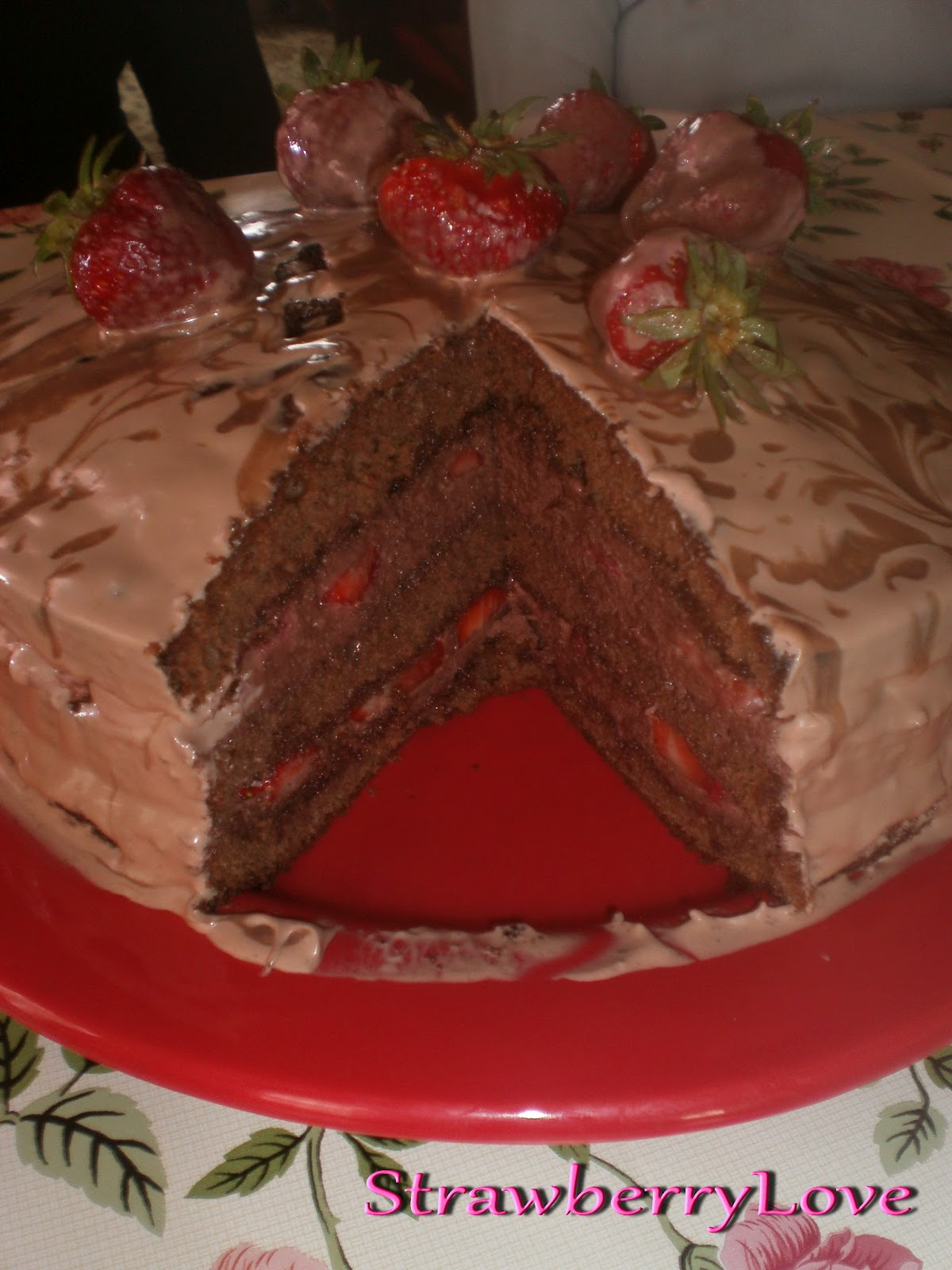 Best Strawberry Cake For Traveling