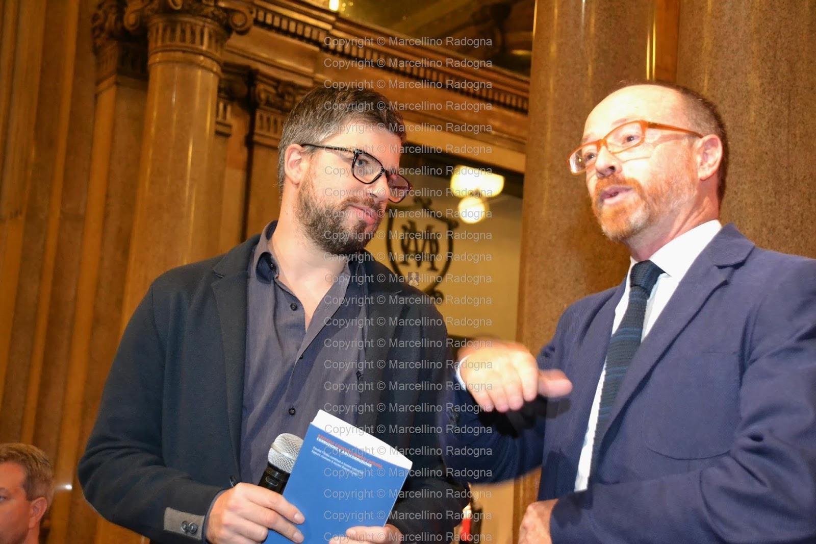 Marcellino Radogna - Fotonotizie per la stampa: Stefano Feltri e Enrico  Carloni