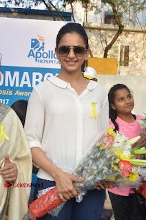 Actress Rakul Preet Singh at Endometriosis Awareness Walk at Apollo Cradle  0030.jpg