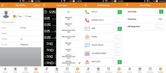 MyKronoz ZeFit2 Pulse App