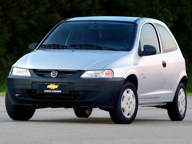 Chevrolet Celta - 3º carro mais vendido do Brasil em 2005