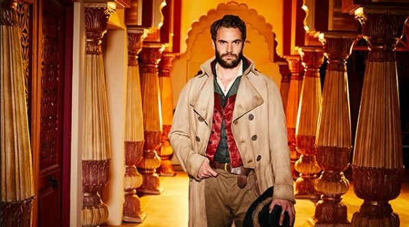 HOLLYWOOD SPY: 1ST BEECHAM HOUSE INDIA SET EPIC TV SERIES PHOTOS