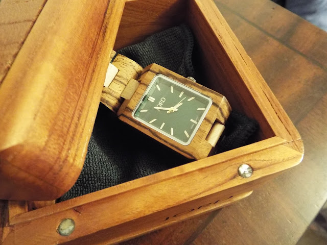 Jord wooden watch boxed