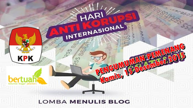 Pengumuman Pemenang Lomba Blog HAKI 2016