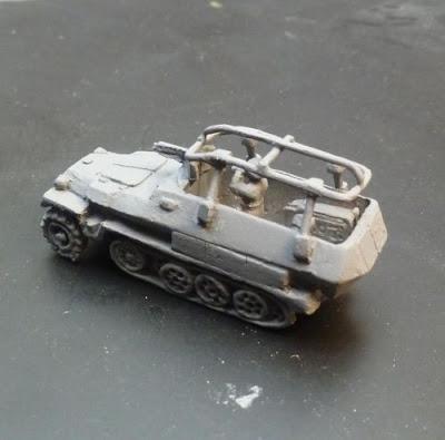 Sdkfz 251C Radio