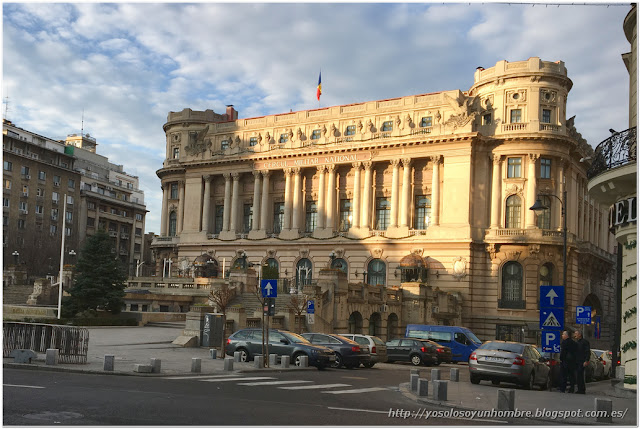 Calle Victorei, el edifico del Club Militar