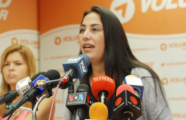 """VENEZUELA: Diputada Pichardo; """"en el país hay actualmente 1.011 detenidos por razones políticas""""."""
