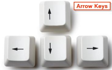 keyboard-arrow-keys