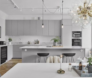 Light-Grey-Kitchen-Cabinets-Elegant