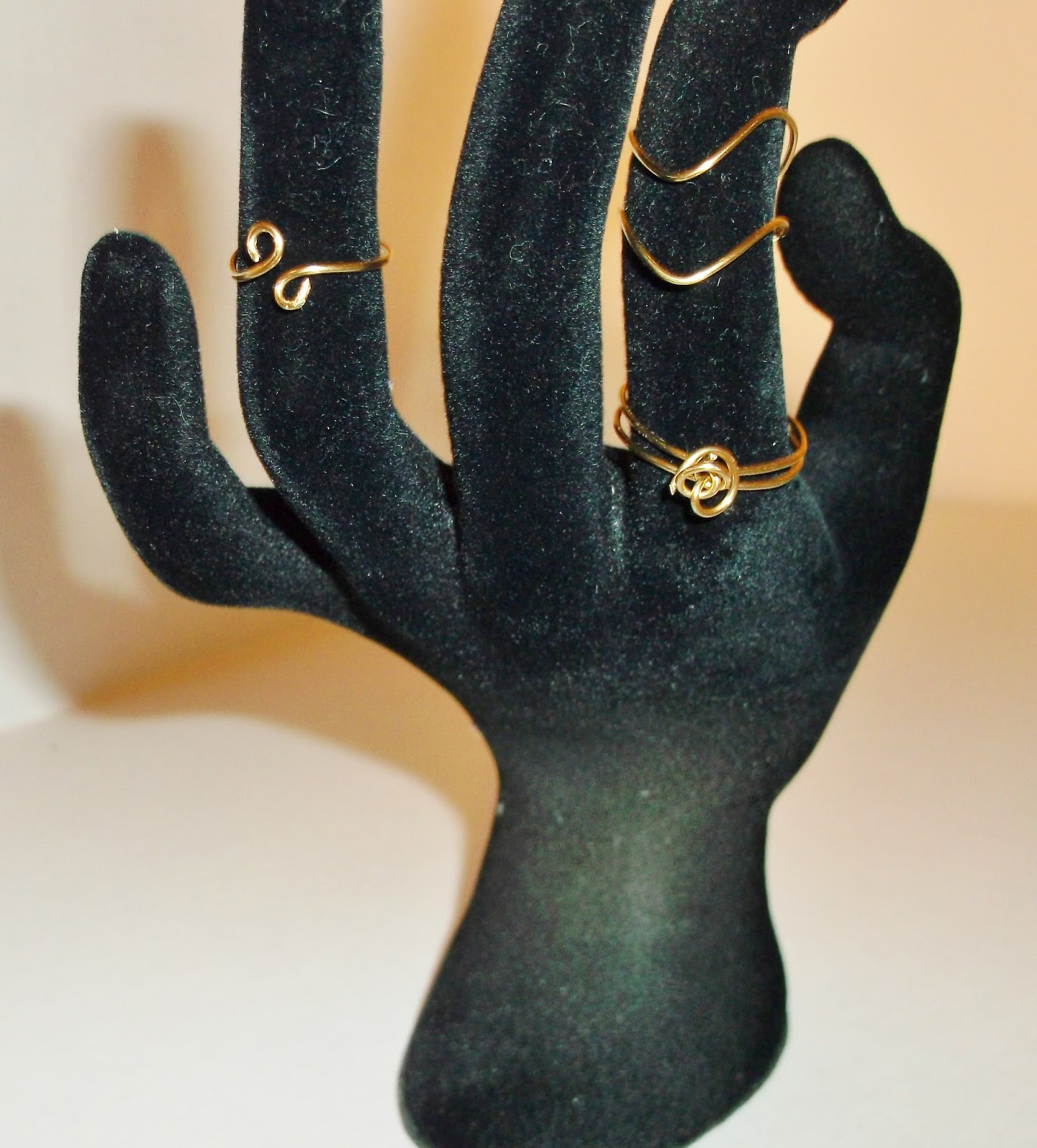 New! Brass Mid Finger Handmade Rings
