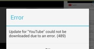 How to fix error 489 in Google Play Store Android   ValueStuffz