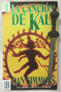 Portada del libro La canción de Kali, de Dan Simmons