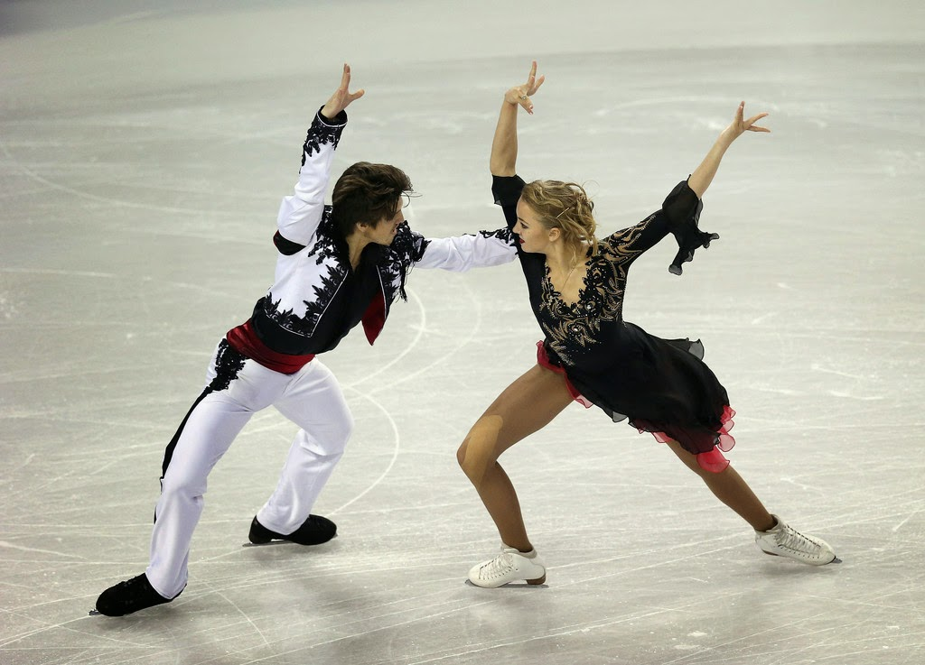 379ad1e959 ICE STYLE.....2014 Skate America Figure Skating Costumes  PAIRS