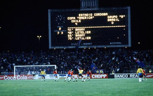 Chile y Brasil en Copa América 1987, 3 de julio
