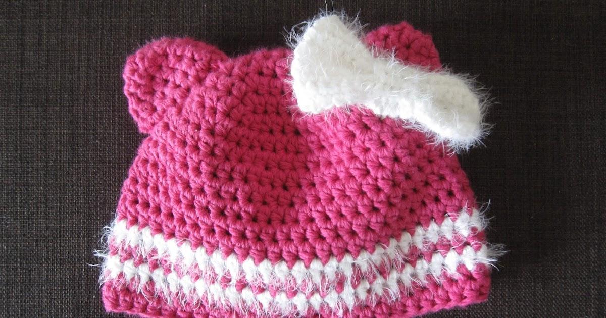 sachen selber machen geh kelte babym tze in pink mit katzenohren. Black Bedroom Furniture Sets. Home Design Ideas