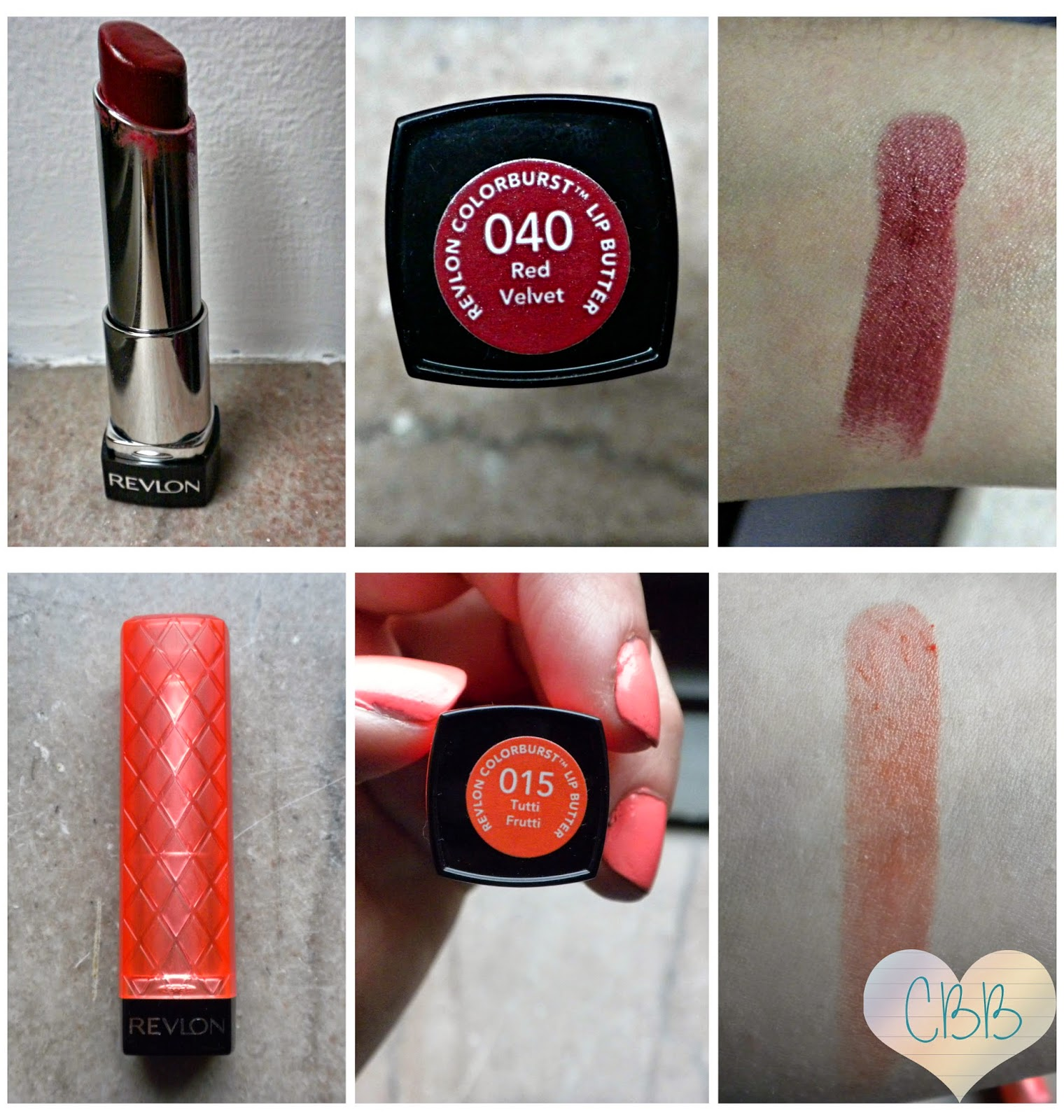 Lipstick: REVLON Colorburst Lip Butter ($8.50)