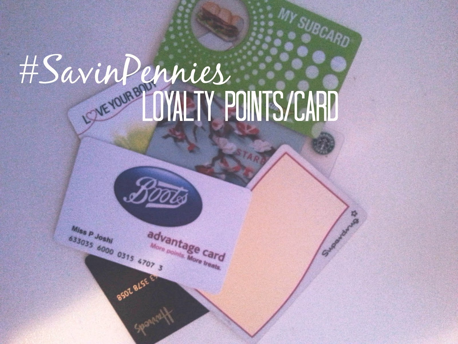 Loyalty/Points Card