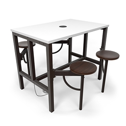 Powered Office Table